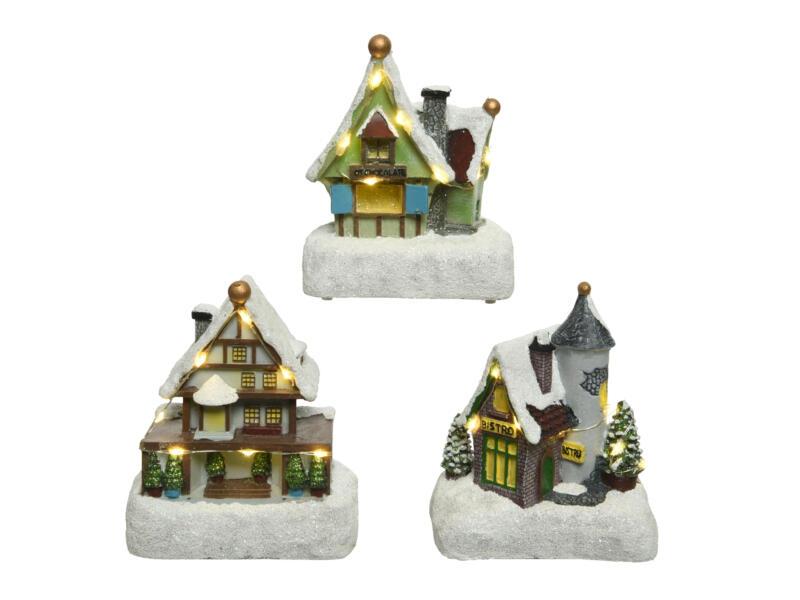 LED huis 12cm warm wit beschikbaar in 3 modellen