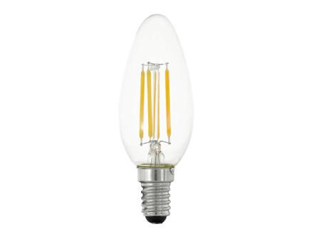Eglo LED kaarslamp filament E14 4W dimbaar