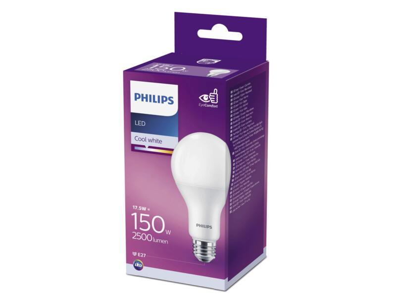 Philips LED kogellamp E27 17,5W koud wit