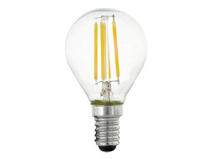 Eglo LED kogellamp filament E14 4W dimbaar