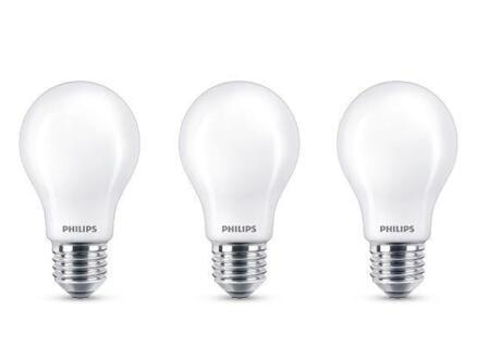 Philips LED peerlamp E27 4,5W 3 stuks