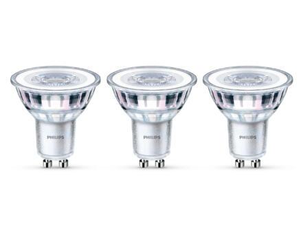 Philips LED spot GU10 3,5W koud wit 3 stuks
