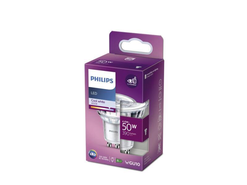 Philips LED spot GU10 4,6W koud wit