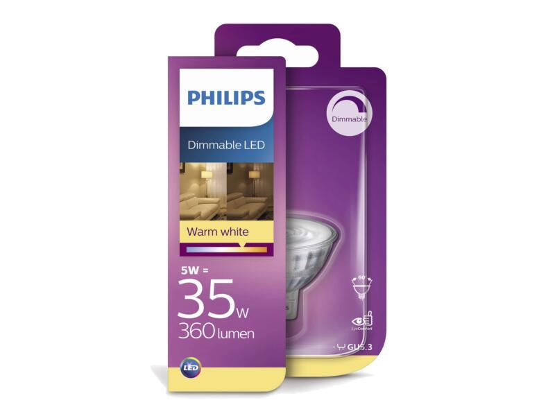 Philips LED spot GU5.3 5W dimbaar