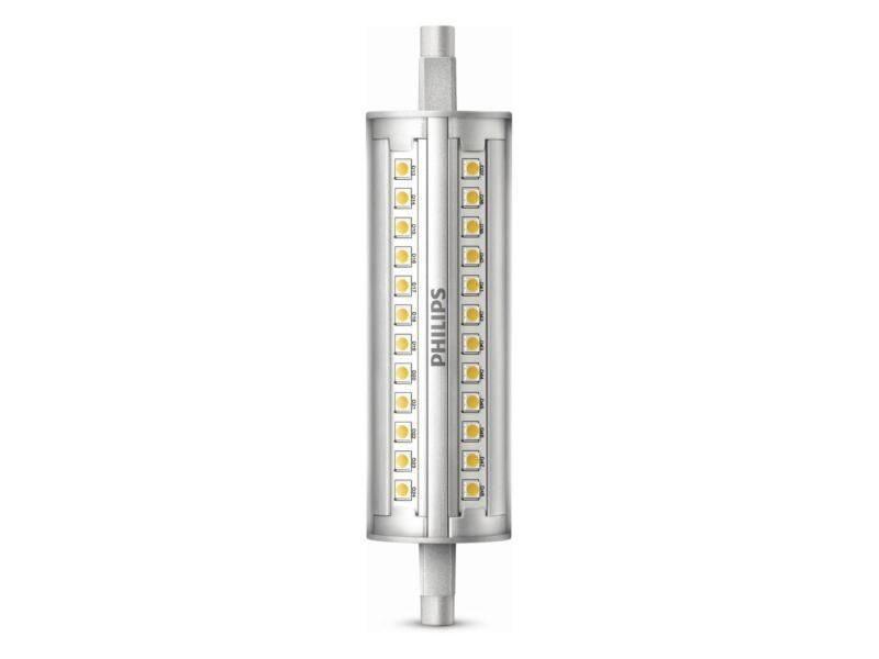 Philips LED staaflamp R7S 14W dimbaar koud wit