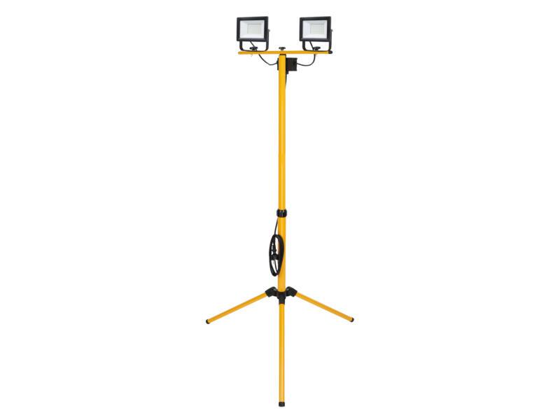 LED straler op statief 2x20 W 1600lm waterbestendig