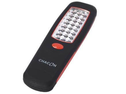 Chacon LED zaklamp 24lm zwart