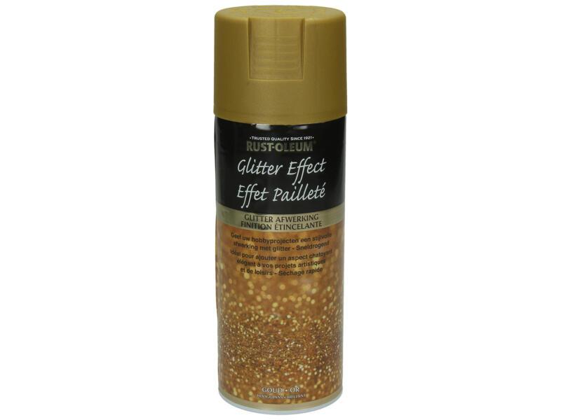 Lakspray glitter effect 0,4l goud