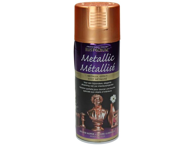 Lakspray metallic 0,4l helder koper