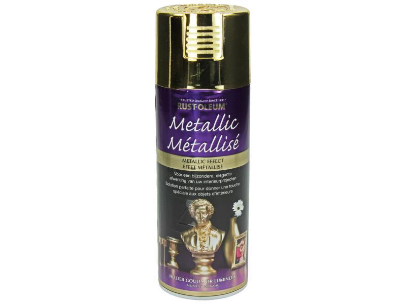 Lakspray metallic 0,4l licht goud