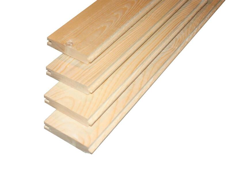 Lame de plancher 390x8,9x1,75 cm sapin 1,735m²
