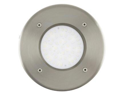 Eglo Lamedo spot de sol LED encastrable rond 2,5W inox