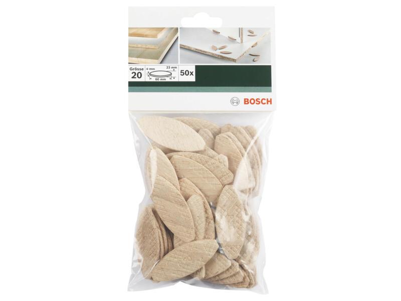 Bosch Lamellendeuvels 50 stuks