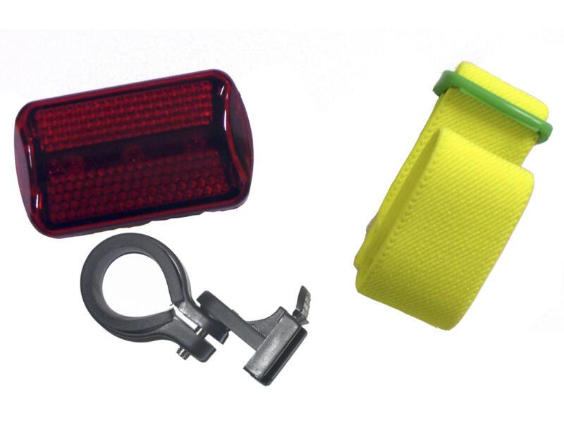 Maxxus Lampe de sécurité LED rouge