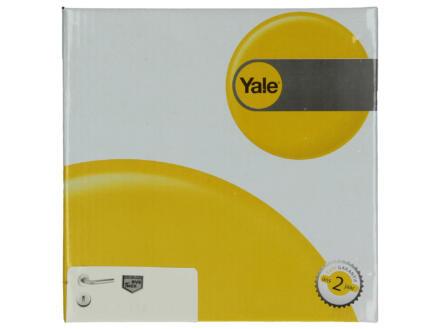 Yale Lana BB deurklinkset op rozet 52mm inox