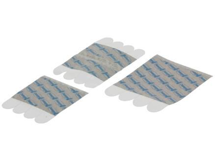 Command Languettes de fixation repositionnables transparent 16 pièces