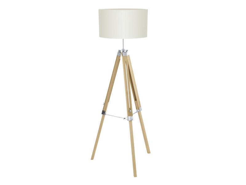 Eglo Lantada staanlamp E27 60W beige
