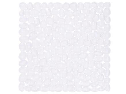 Differnz Lapis antislip badmat 54x54 cm transparant