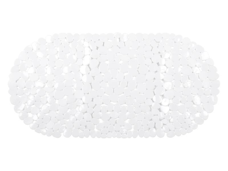 Differnz Lapis antislip badmat 70x35 cm wit
