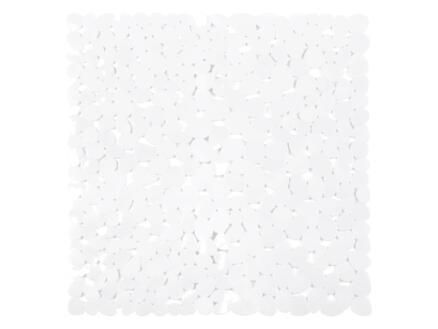 Differnz Lapis antislip douchemat 54x54 cm wit
