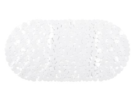 Differnz Lapis tapis de bain antidérapant 70x35 cm blanc