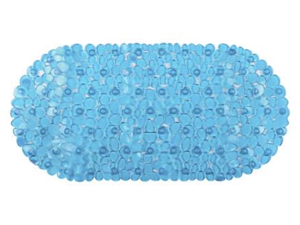 Differnz Lapis tapis de bain antidérapant 70x35 cm bleu