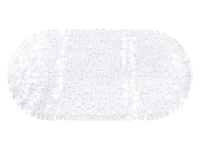 Differnz Lapis tapis de bain antidérapant 70x35 cm transparent