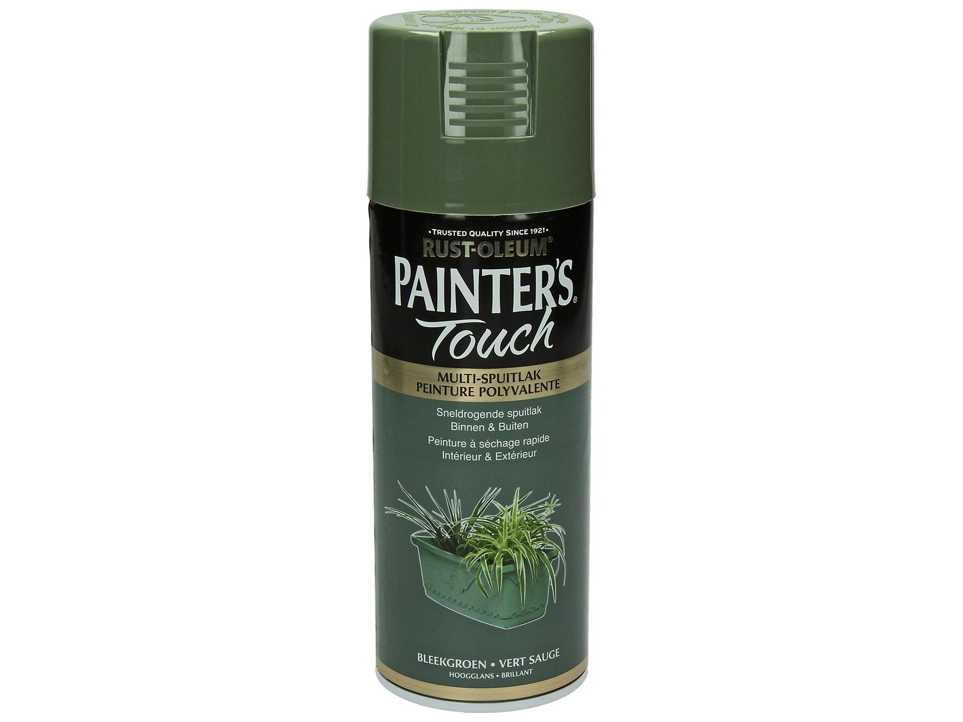Code Couleur Vert Sauge laque en spray painter's touch brillant 400ml vert sauge