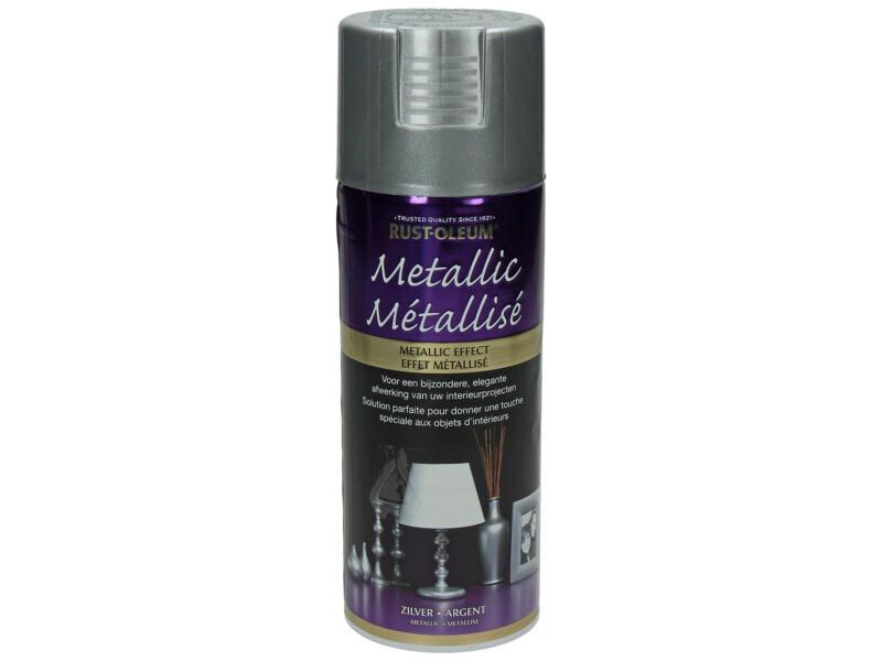 Laque en spray métallisé 0,4l argent