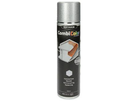 Rust-oleum Laque en spray peinture métal martelé 0,4l gris clair