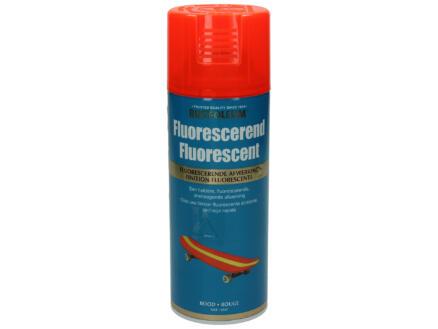 Laque en spray peinture phosphorescente 0,4l rouge