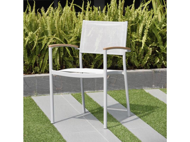 Garden Plus Larios tuinstoel grijs