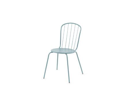 Garden Plus Larnaca chaise de jardin bleu