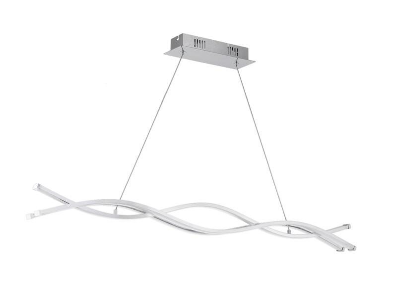 Eglo Lasana 2 LED hanglamp 3x13 W chroom/wit