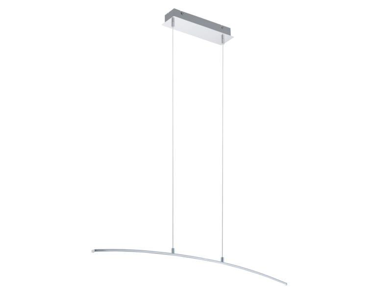 Eglo Lasana LED suspension 14W chrome/blanc