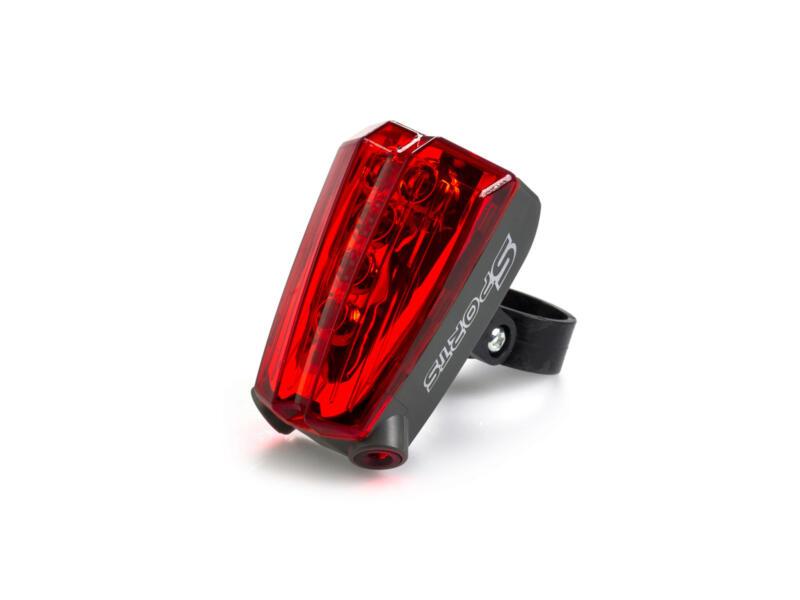 Maxxus Laser Piste Cyclable lampe de vélo arrière LED 2 fonctions