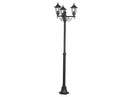 Eglo Laterna 4 lantaarnpaal E27 max. 3x60 W zwart