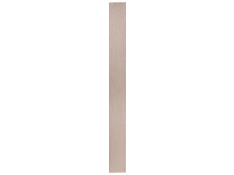 Latte rabotée balsa 1x100 mm 100cm