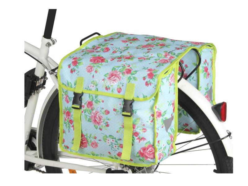 Maxxus Laura sacoche vélo double 35x14x30 cm