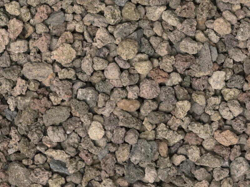 Lava Split grind 8-16 mm 16kg bruin/rood
