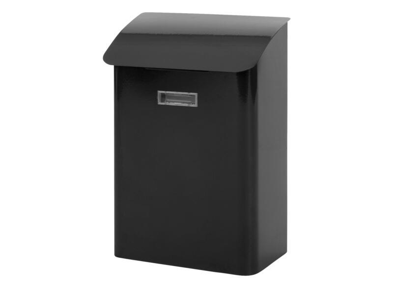 Practo Garden Leeds brievenbus gelakt staal zwart