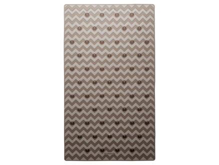 Sealskin Leisure tapis de bain antidérapant 70x40 cm gris