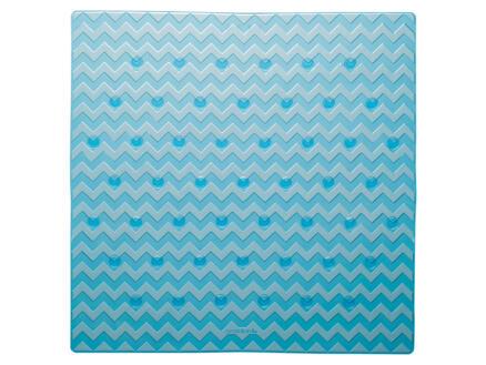 Sealskin Leisure tapis de douche antidérapant 53x53 cm bleu