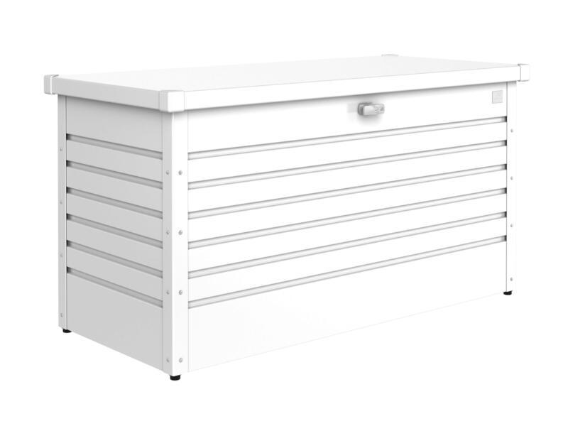Biohort LeisureTime Box 130 coffre de jardin 134x62x71 cm blanc