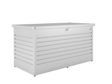 Biohort LeisureTime Box 160 coffre de jardin 159x79x83 cm argent métallique