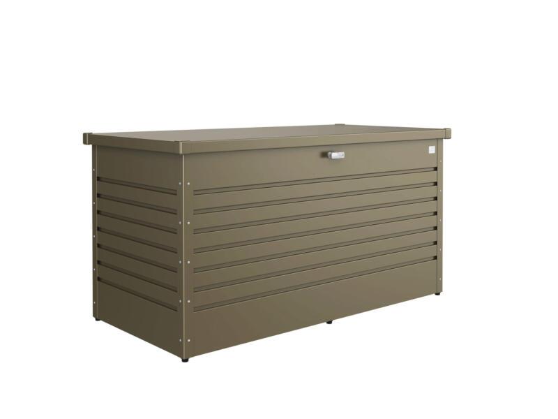 Biohort LeisureTime Box 160 kussenbox 159x79x83 cm brons metallic