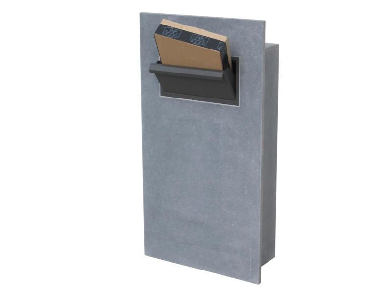 VASP Leon Parcel brievenbus belgische blauwe steen
