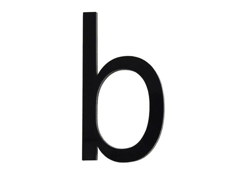 Letter B polyester 6cm