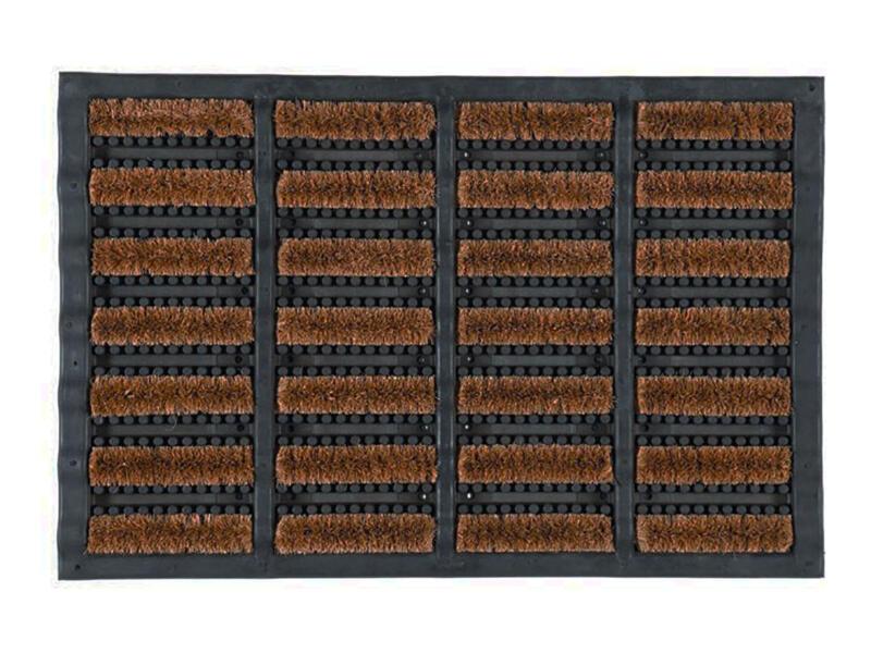 Coryl Lettonie paillaison grattoir coco caoutchouc 60x40 cm lettonie