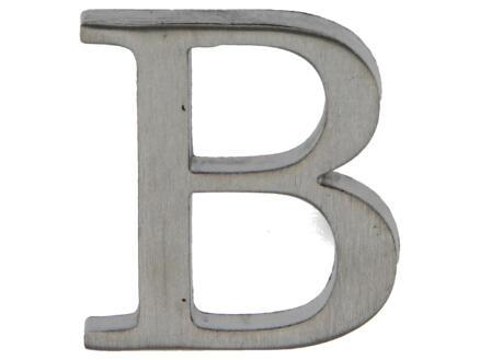 Yale Lettre B inox 50mm